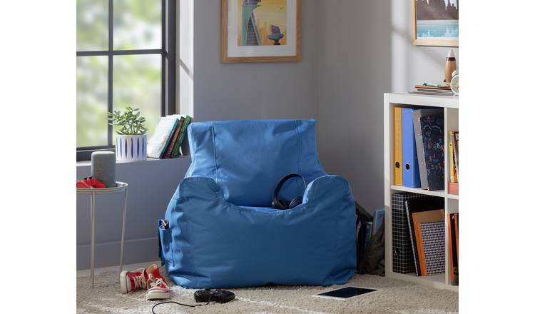 Argos Home Large Blue Teenager Bean Bag