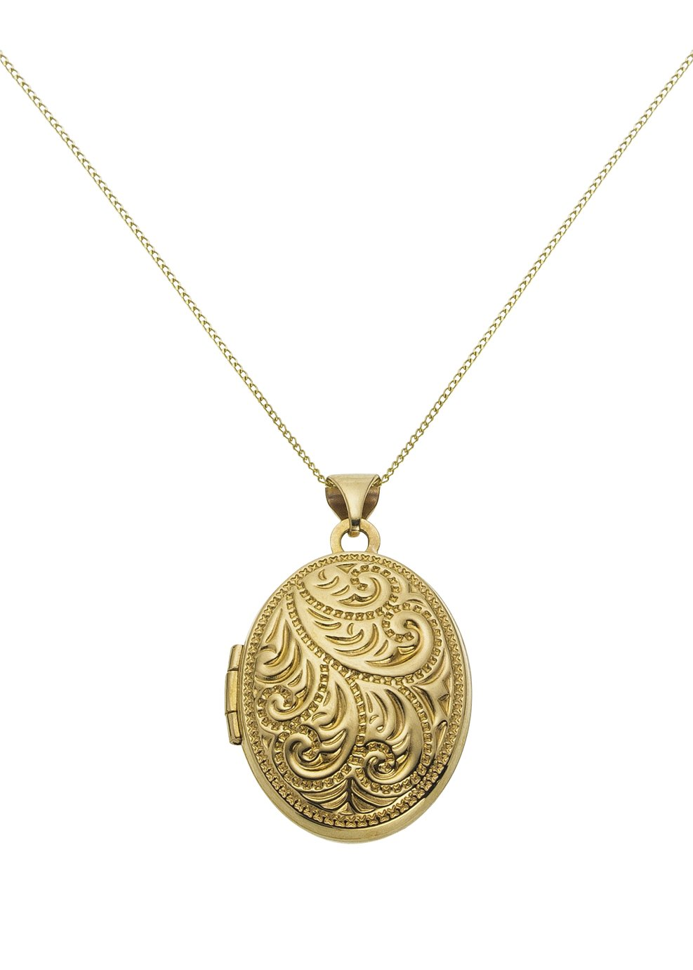 Image of 9 Carat Gold - Family Locket Pendant.