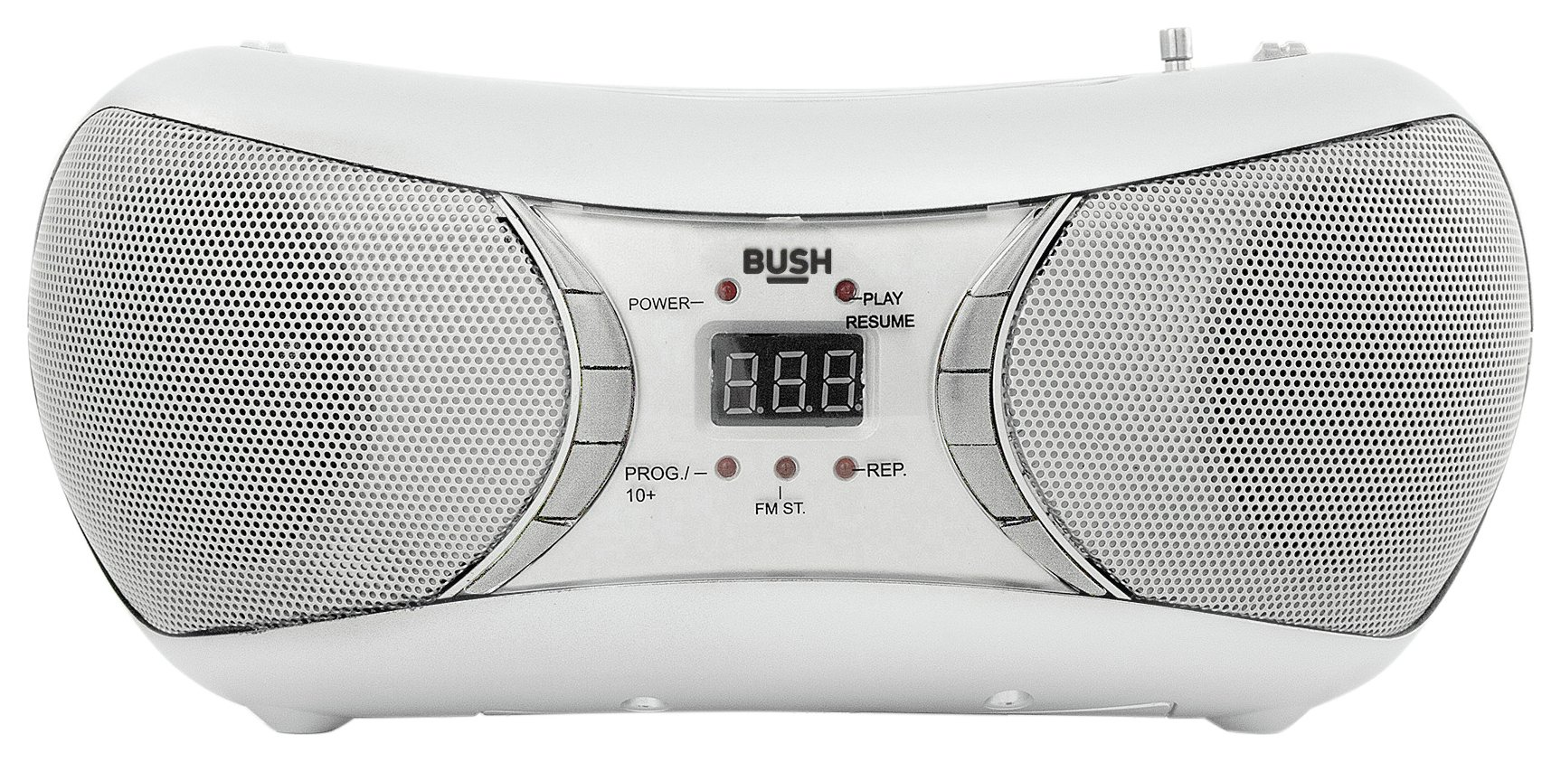 Bush Bush - Bluetooth Boombox - White