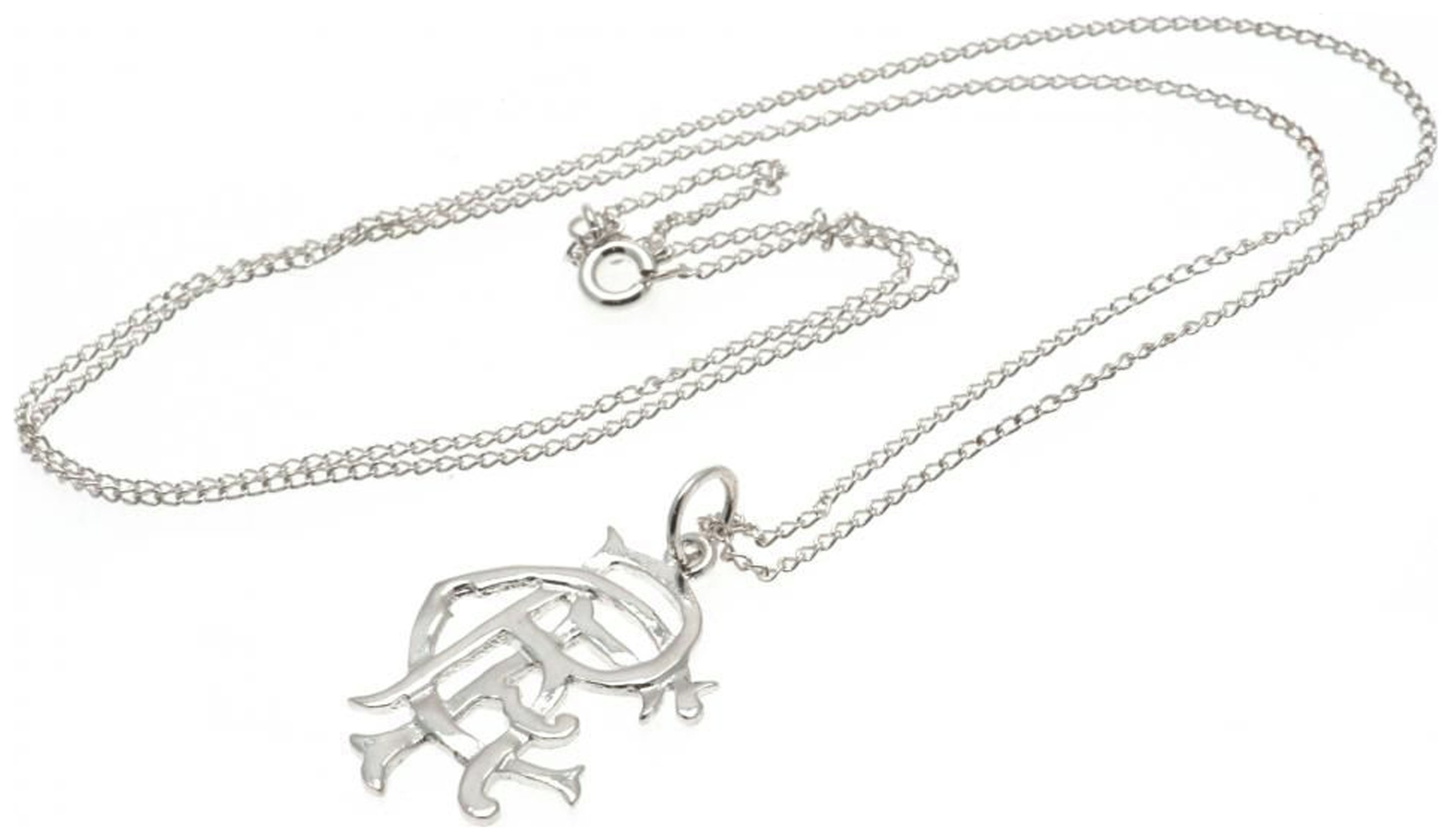Sterling Silver Rangers FC Crest Pendant review