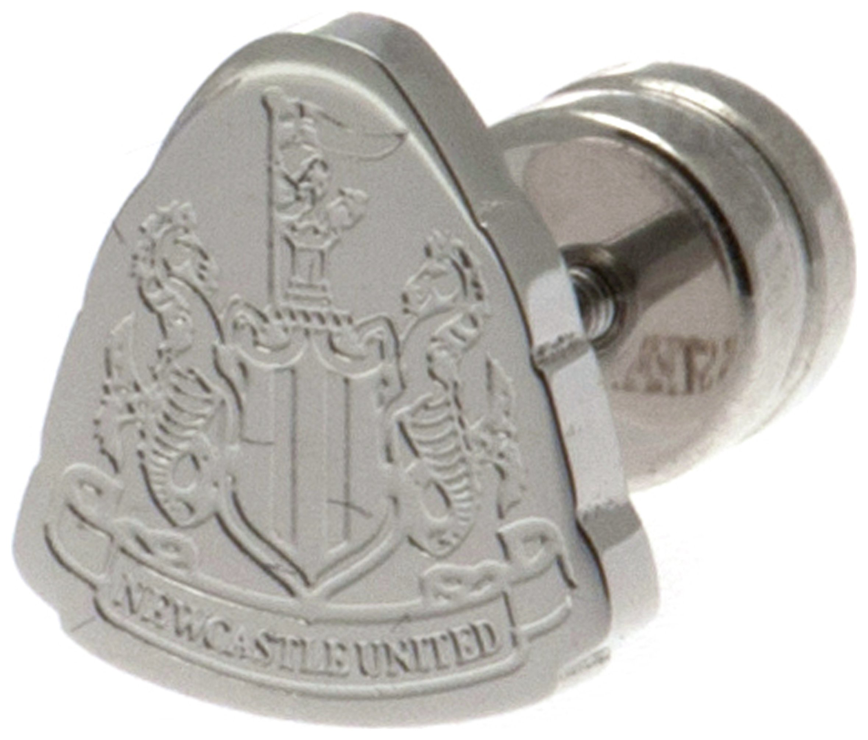 Image of Stainless Steel Newcastle Utd Crest Stud Earring