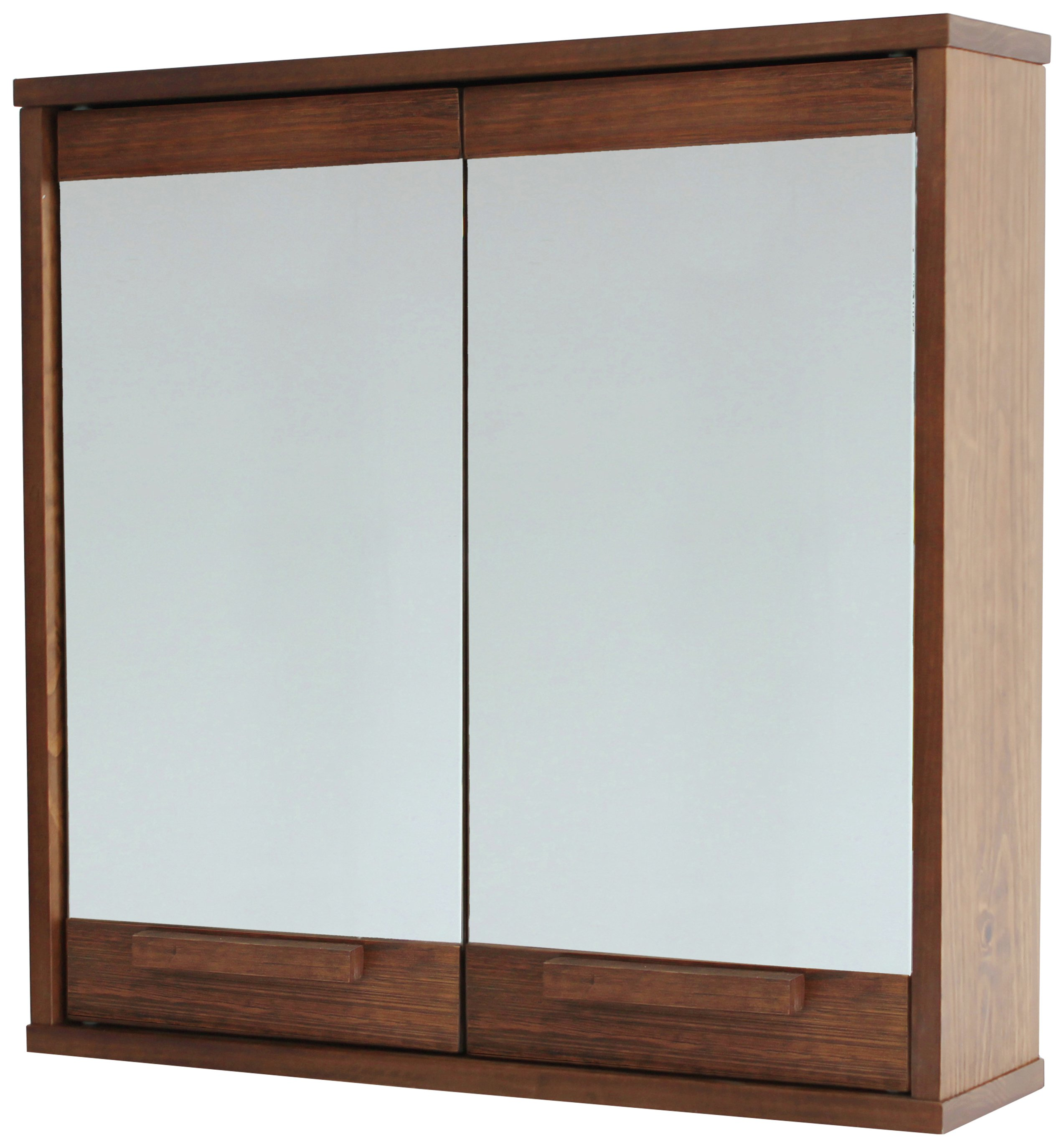 Superieur Argos Home Cranbrook Solid Pine Mirrored Wall Cabinet544/3507