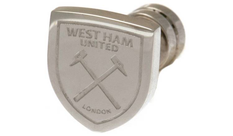 Stainless Steel West Ham Utd Crest Stud Earring