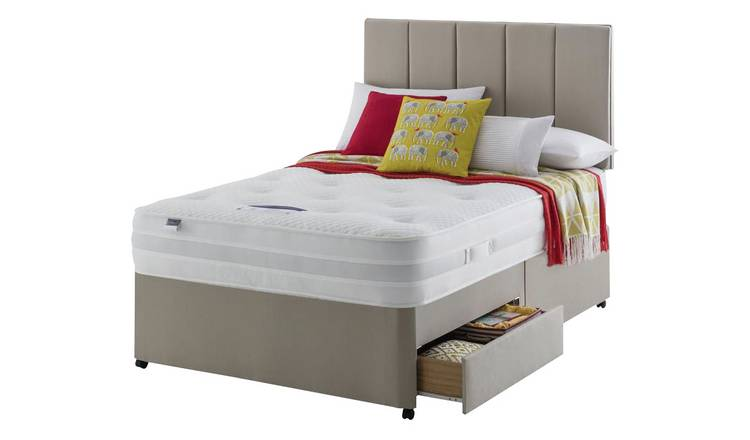 Silentnight Walton 1200 Luxury Kingsize 2 Drw Divan.