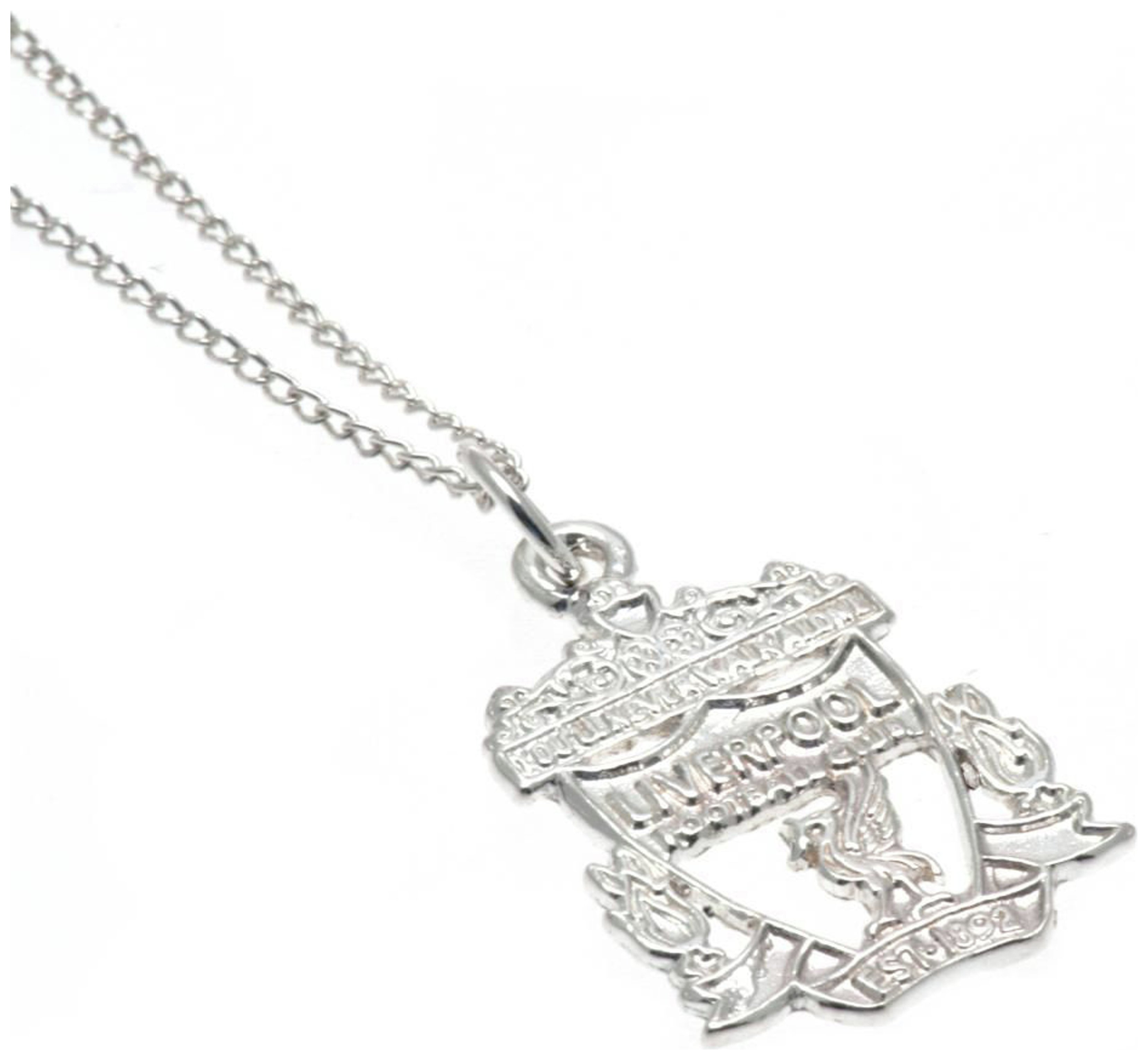 Image of Sterling Silver Liverpool FC Crest Pendant