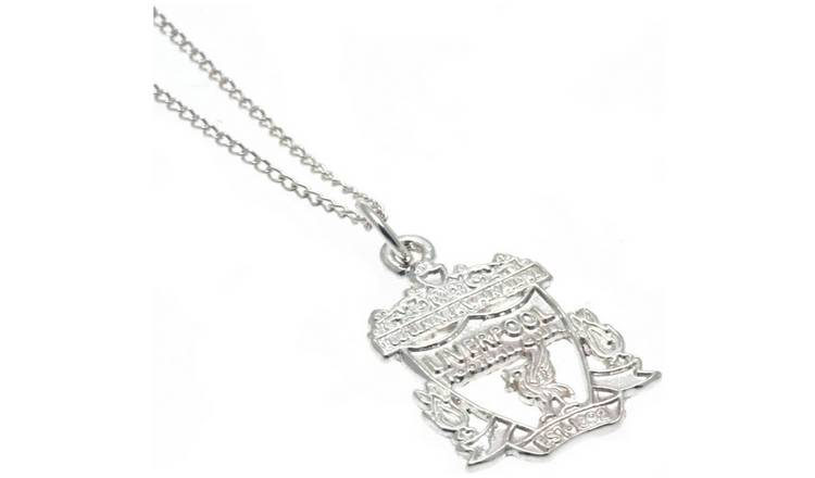 Sterling Silver Liverpool FC Crest Pendant