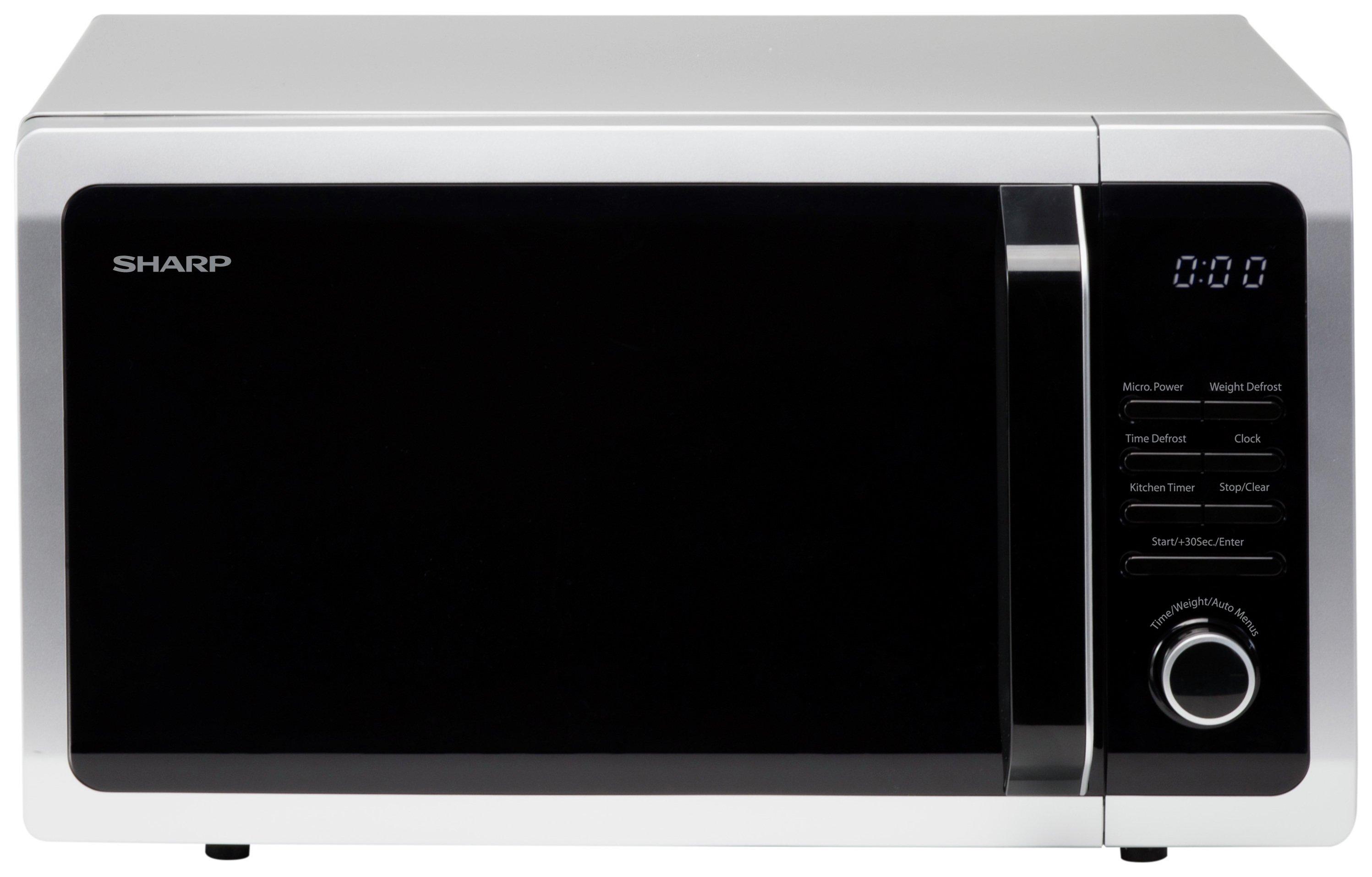 Sharp 900W Standard Microwave R374SLM - Silver
