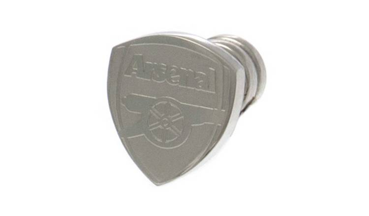 Stainless Steel Arsenal FC Crest Stud Earring