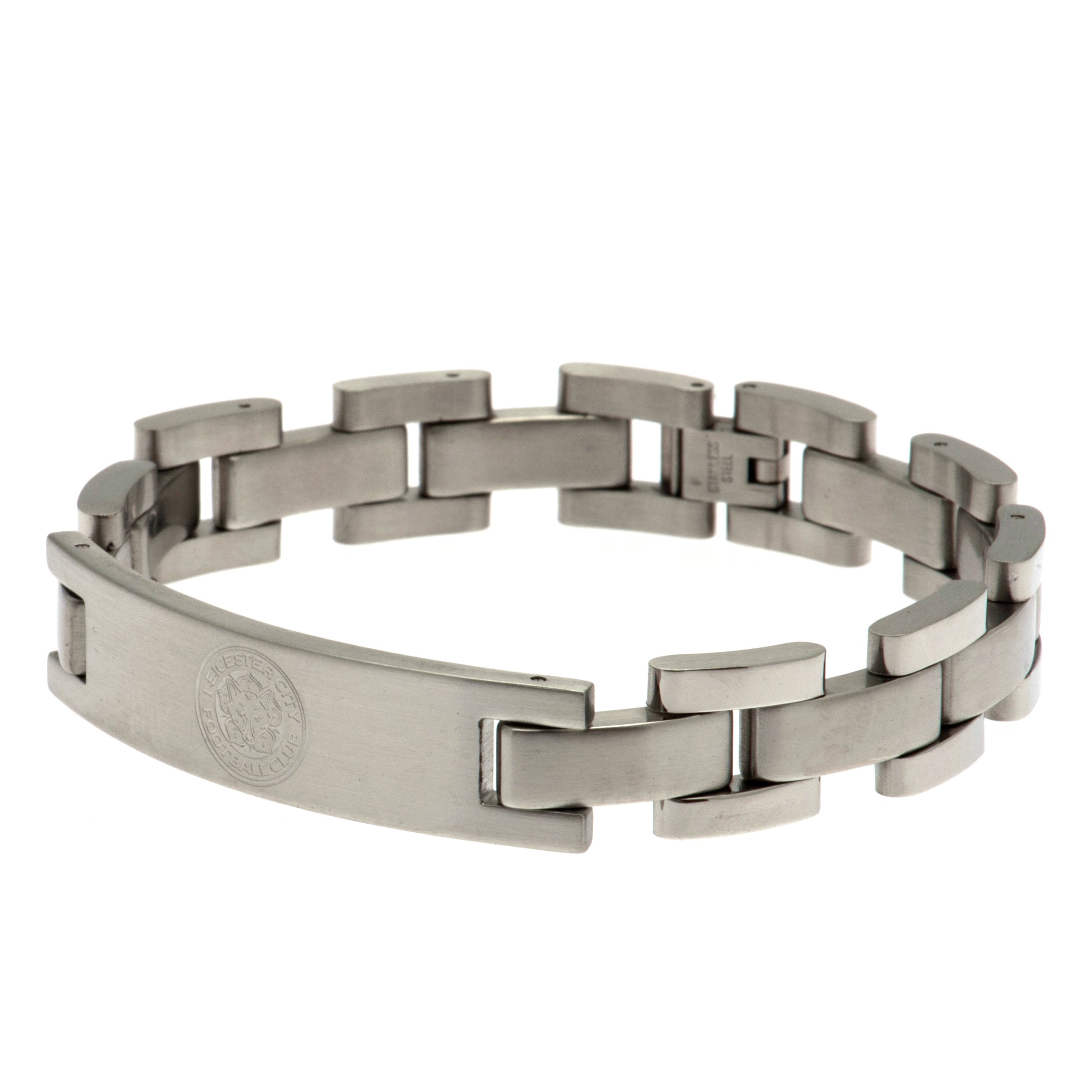 Stainless Steel Leicester City Crest Bracelet