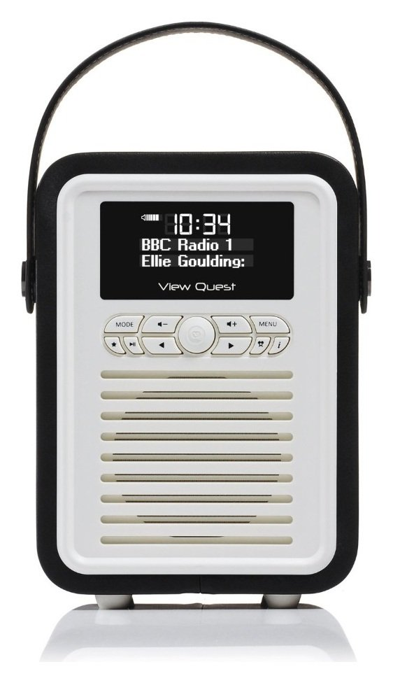 VQ - Retro Mini DAB Radio - Black