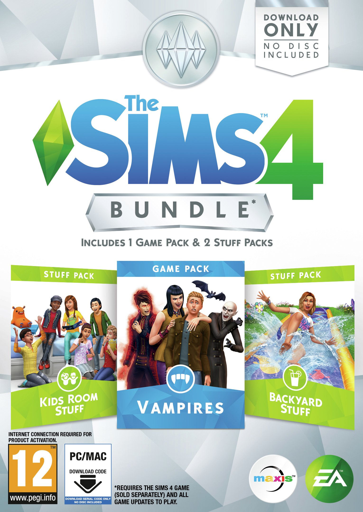 The Sims 4 Vampires Bundle Pack PC Game review