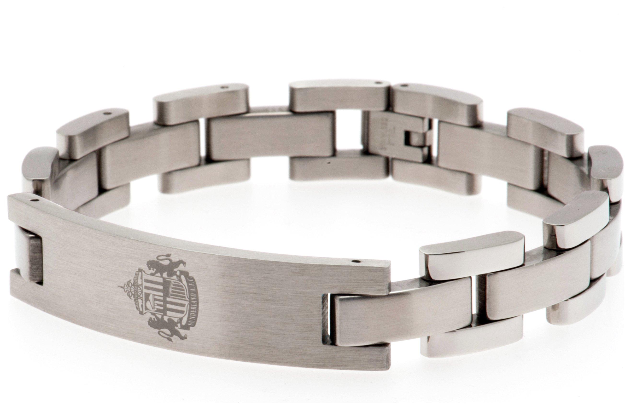 Stainless Steel Sunderland AFC Crest Bracelet review
