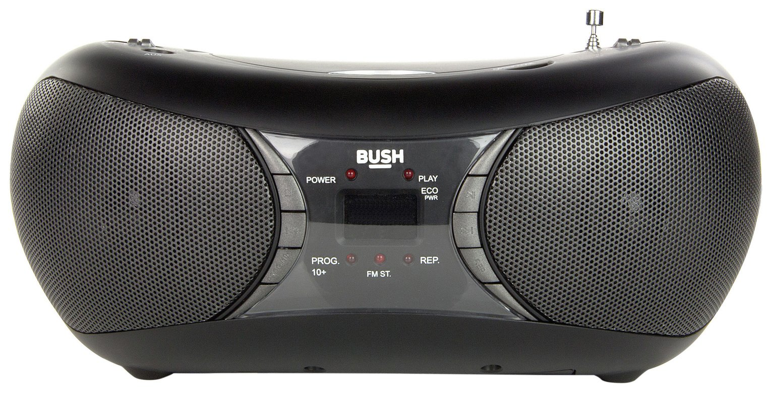 Bush Bush MP3 Boombox - Black.