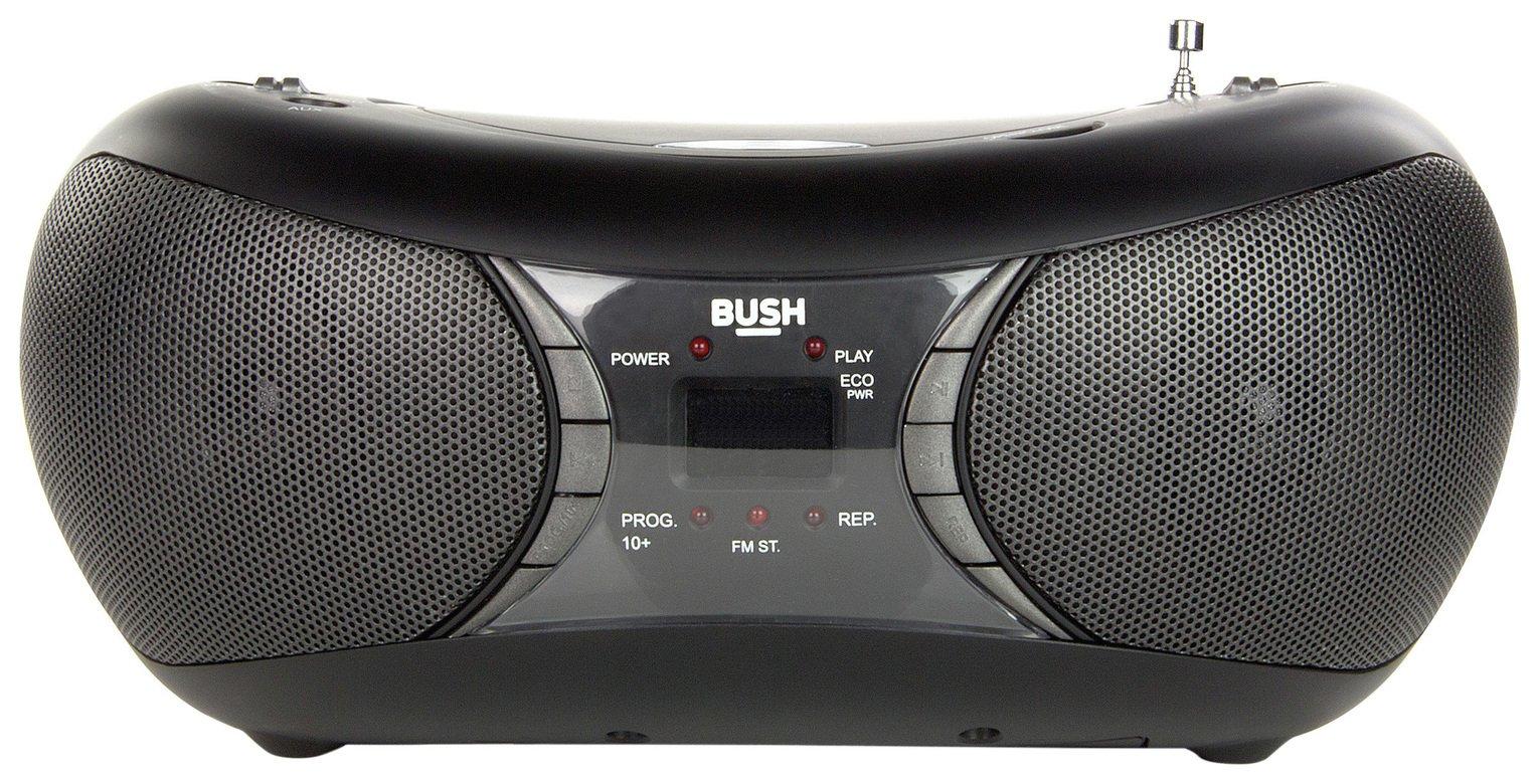 Bush Bush MP3 Boombox - Black.