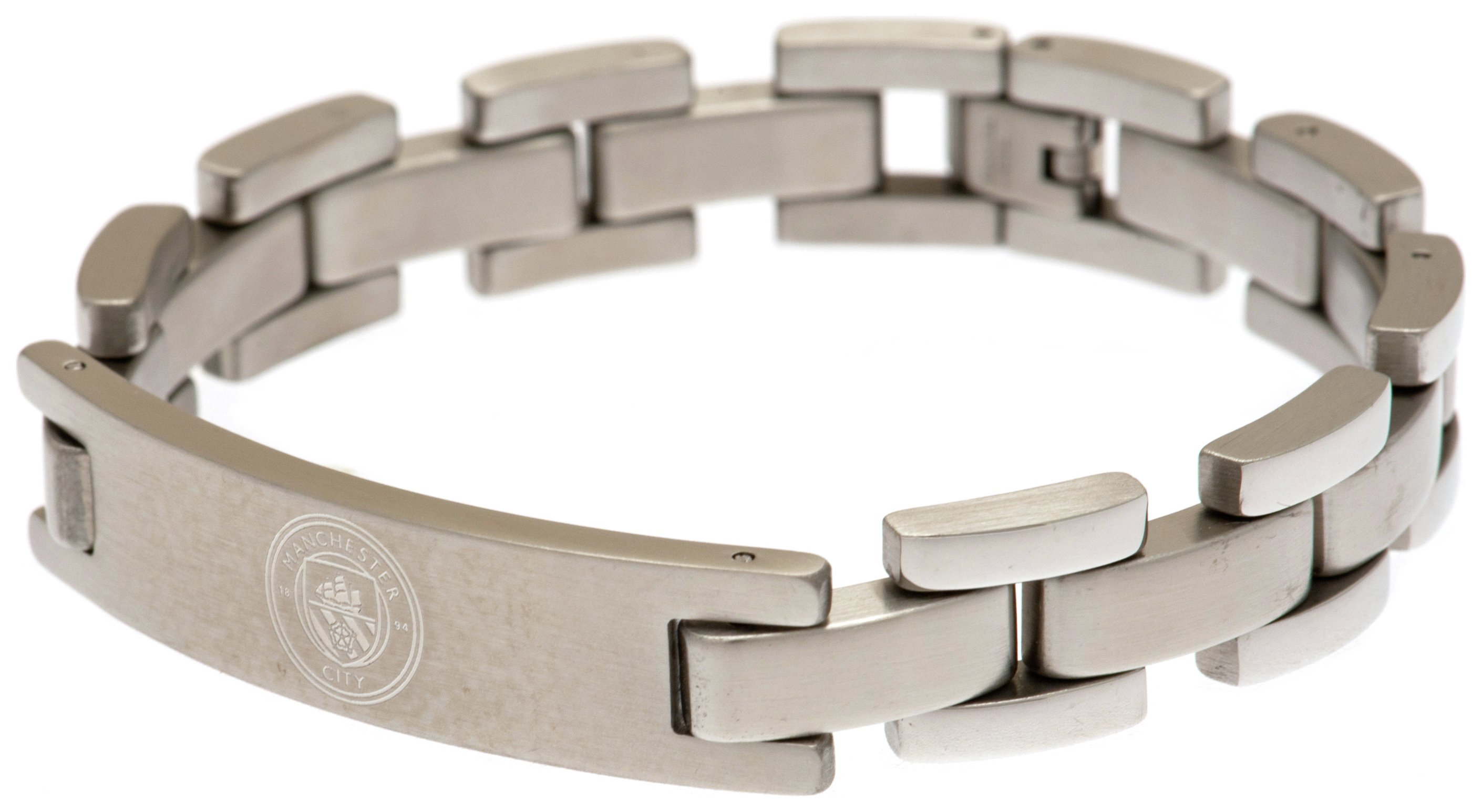 Stainless Steel Manchester City Crest Bracelet review