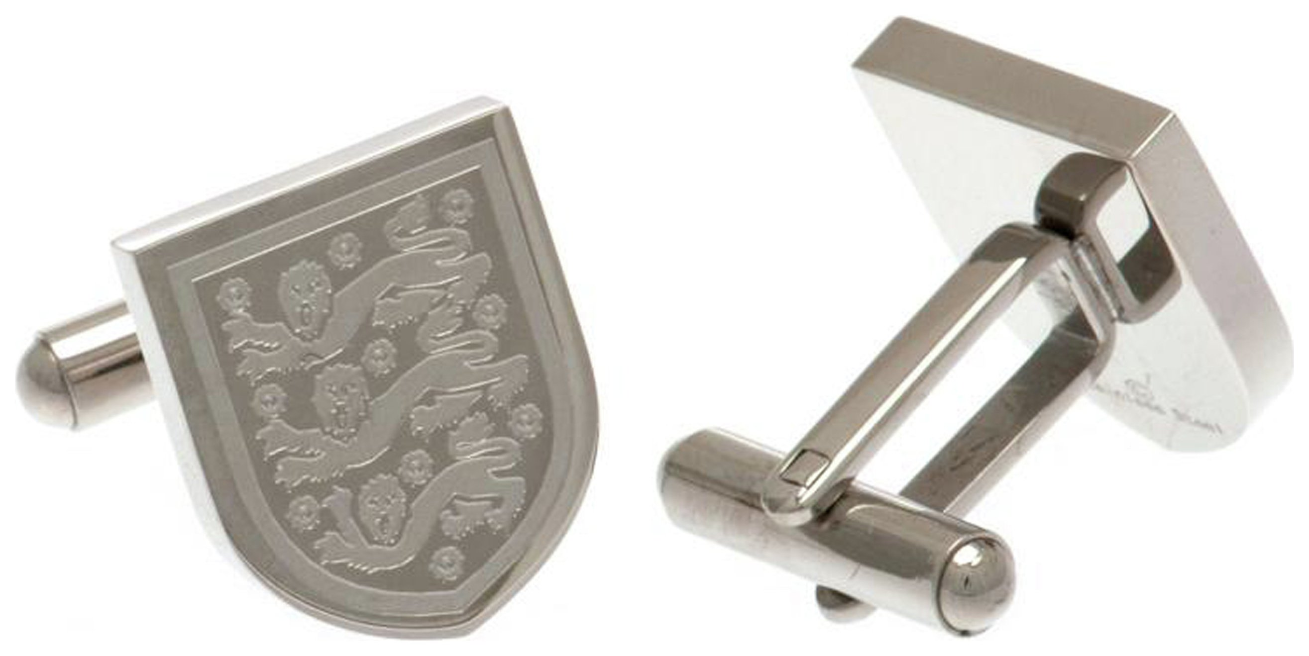 Stainless Steel England FA Crest Cufflinks. review