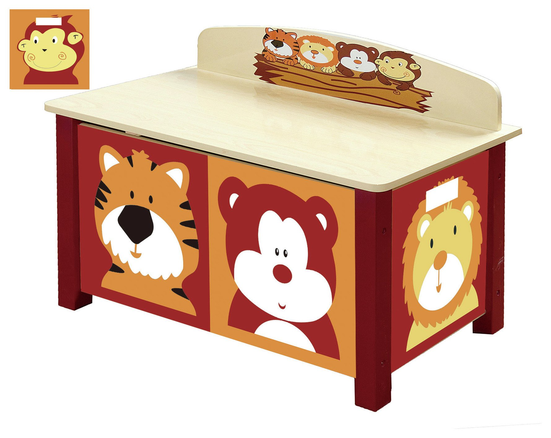 Image of Jungle Big Toy Box.