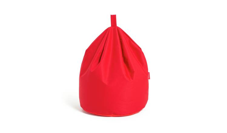 Argos Home Large Bean Bag - Poppy Red