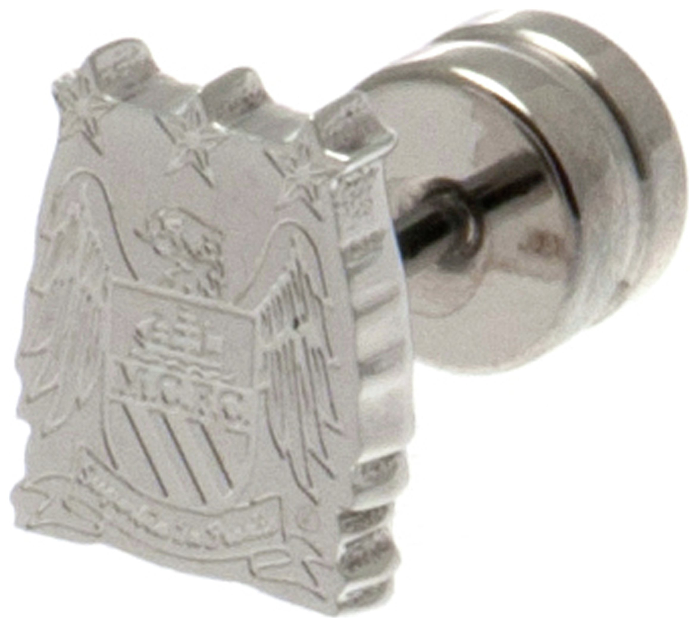 Stainless Steel Man City Crest Stud Earring. review