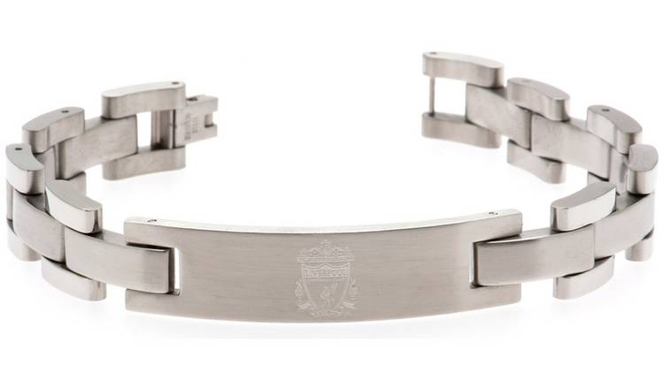 Stainless Steel Liverpool FC Crest Bracelet