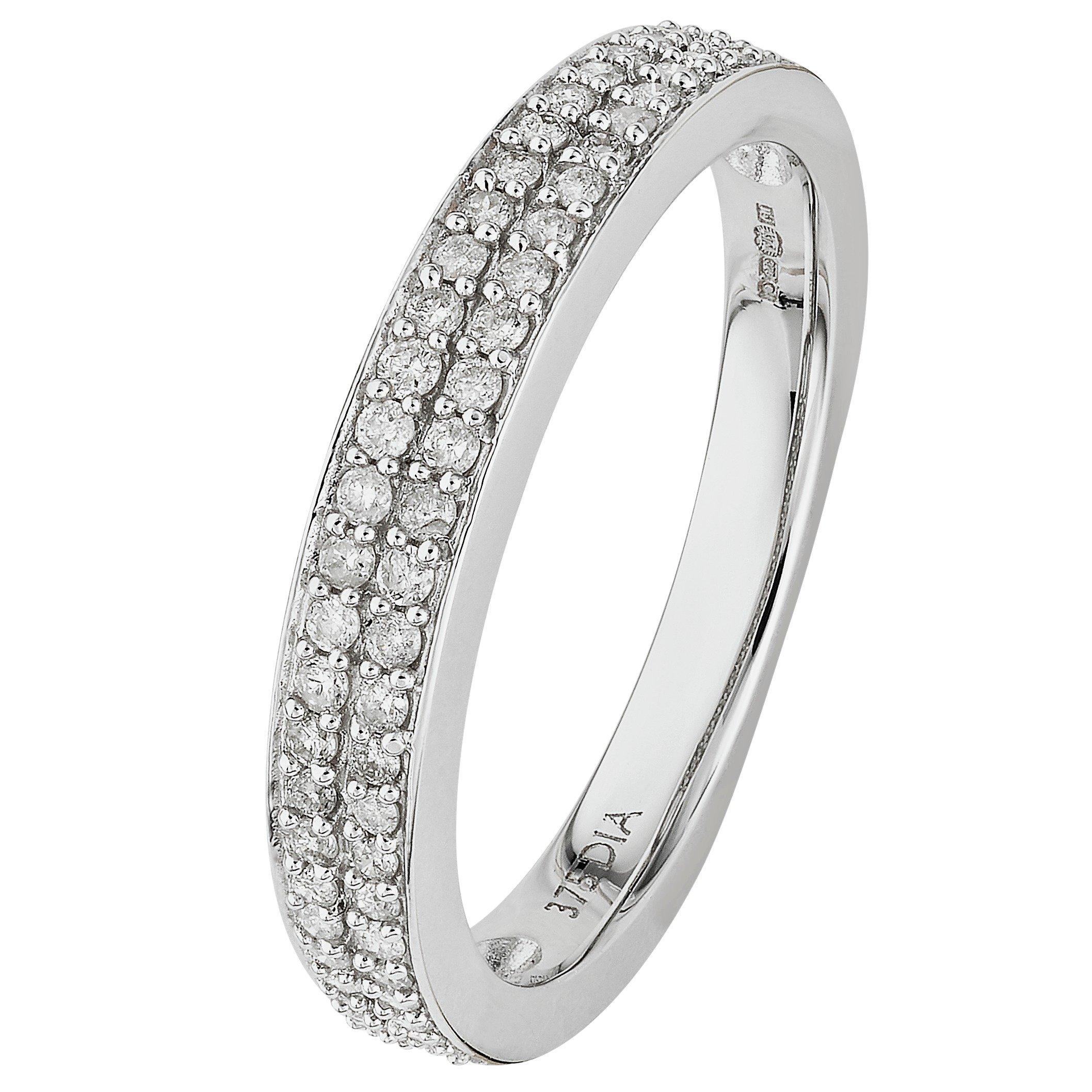 9-carat-white-gold-025-carat-tw-2-row-diamond-wedding-ring