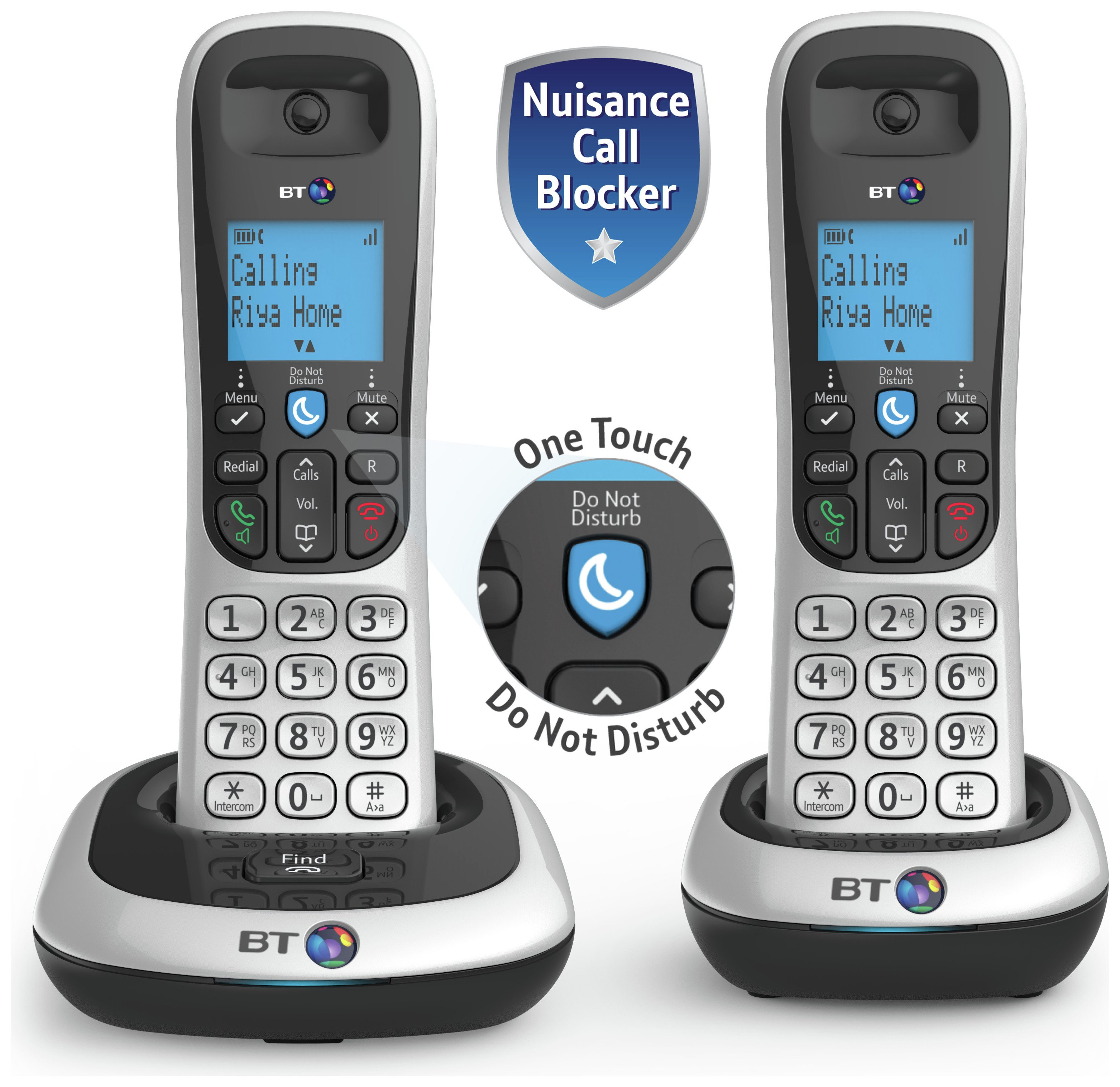 Image of BT - 2200 - Cordless Telephone - Twin