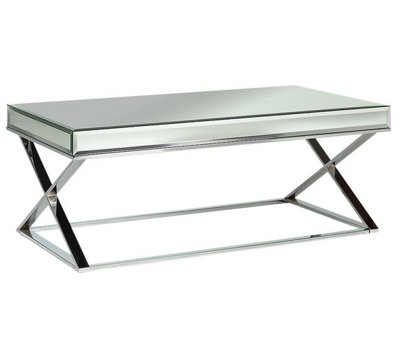 Heart Of House Piazzo Mirrored Top Coffee Table545 9869