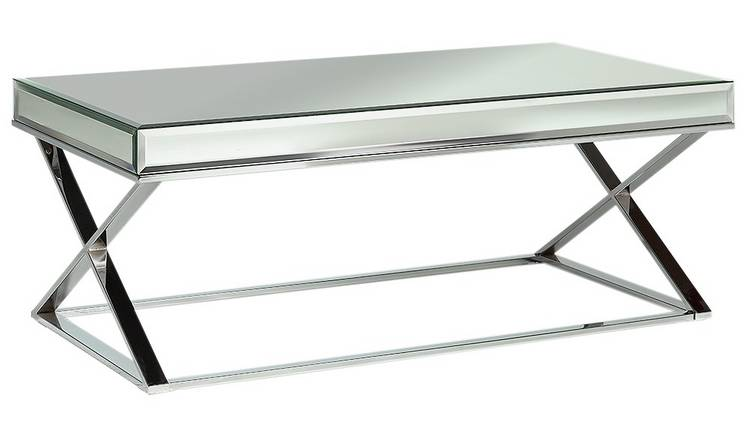 Buy Argos Home Piazzo Mirrored Top Coffee Table Coffee Tables Argos