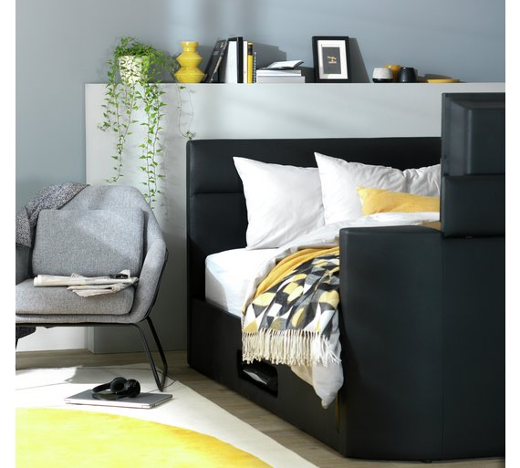 Buy Hygena Gemini Double TV Bed Frame