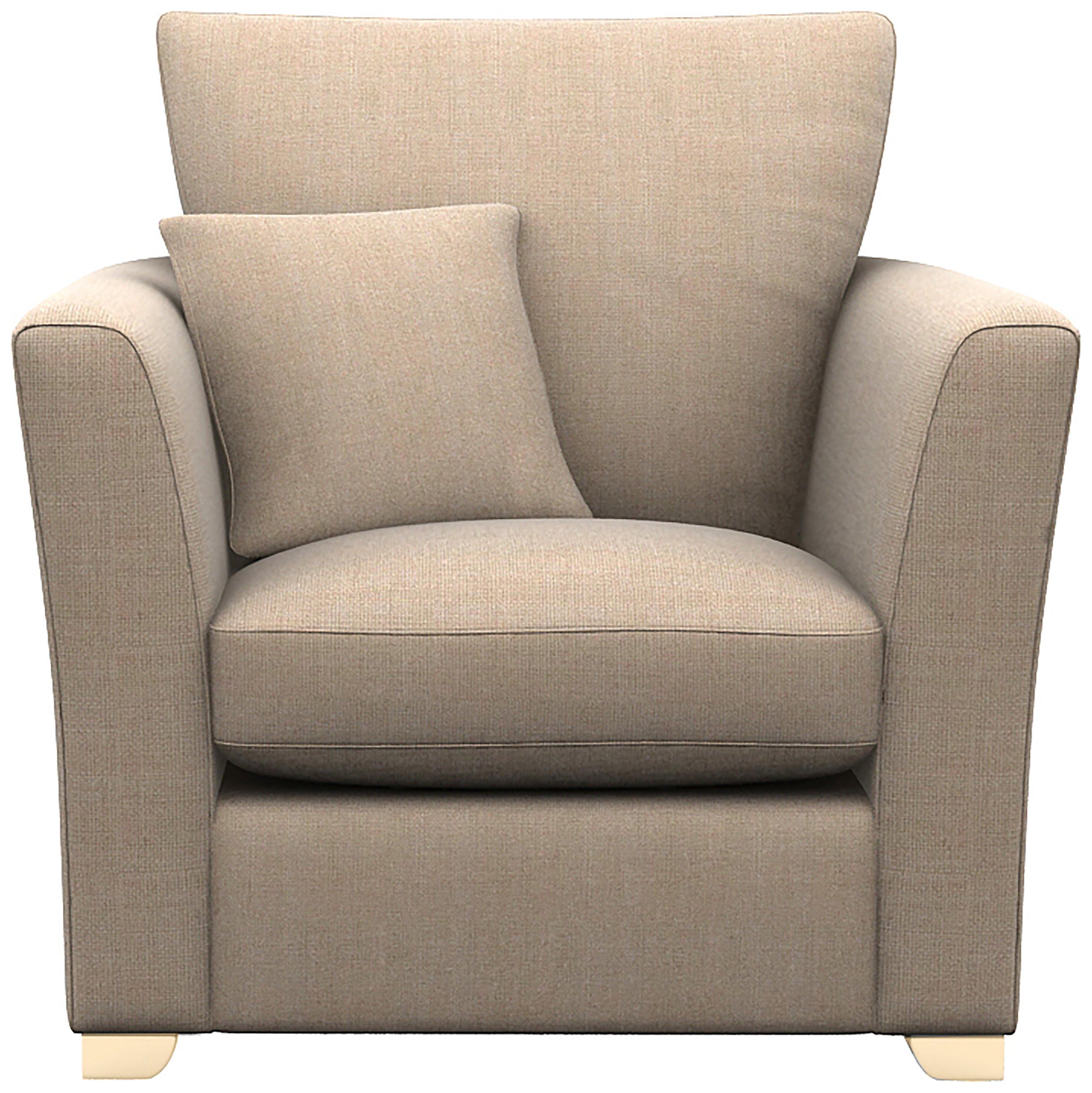 Libby Fabric Chair - Sand