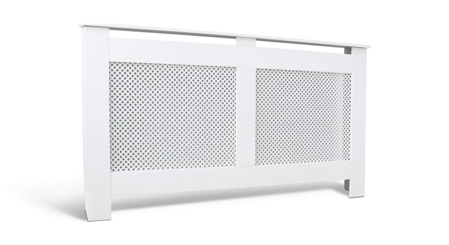 Argos Home Odell Large Radiator Cover - White