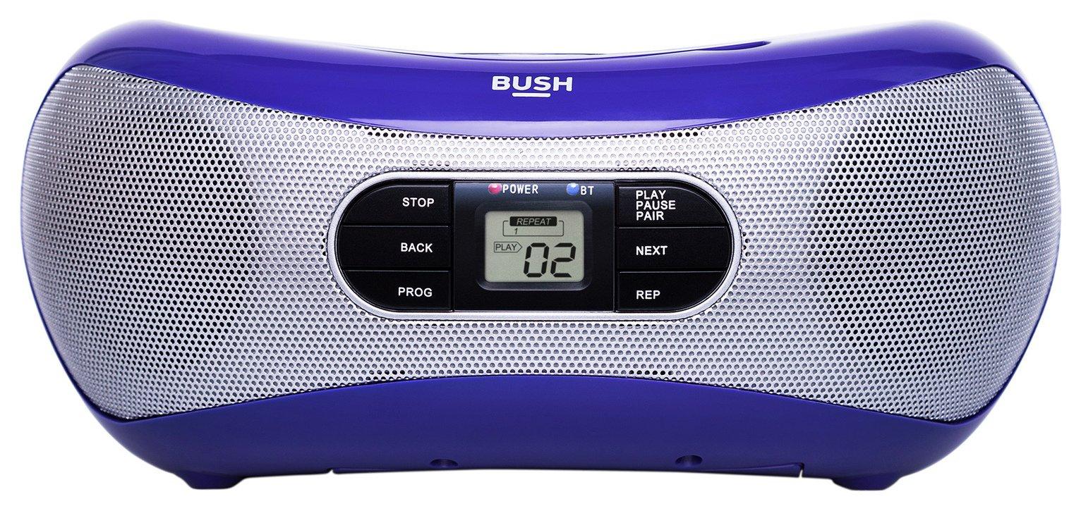 Bush - Bluetooth Boombox - Purple