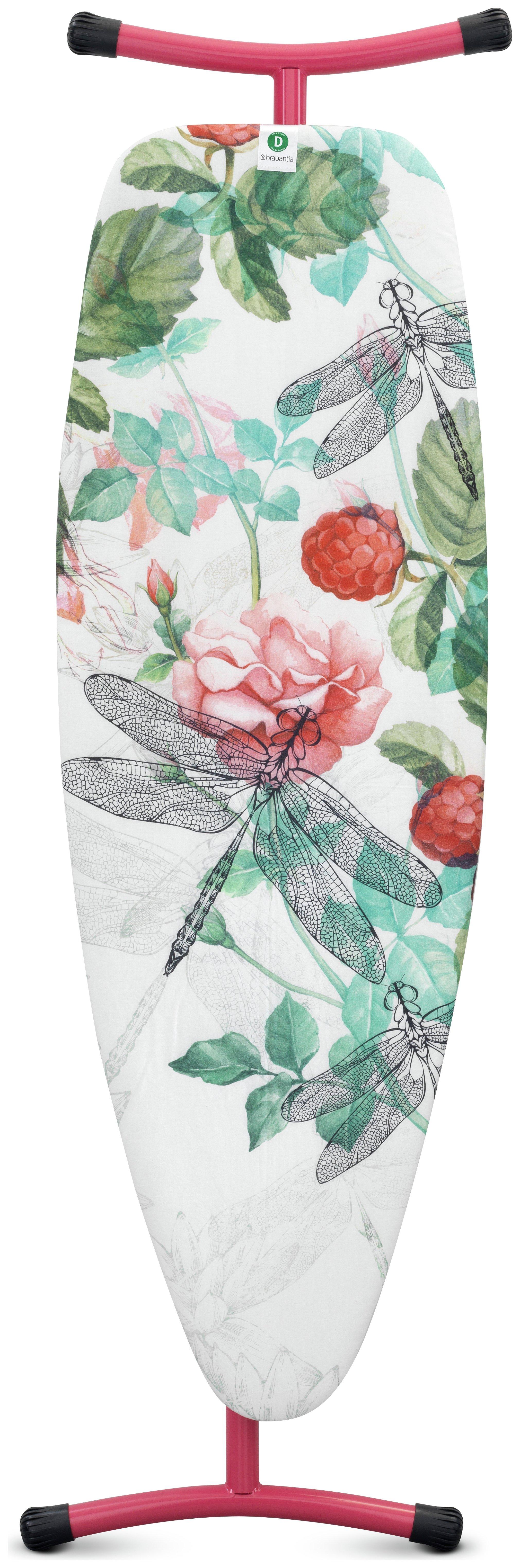 Image of Brabantia 135 x 45cm Folding Ironing Board - Raspberry