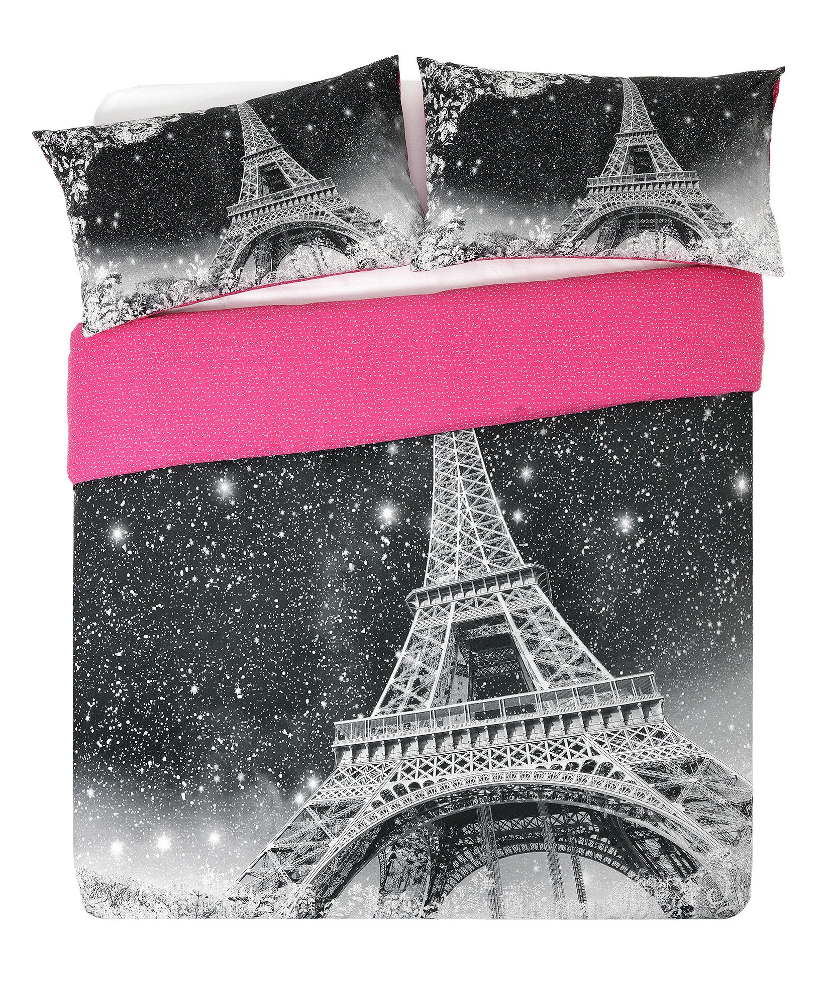 home  paris by night  bedding set  double