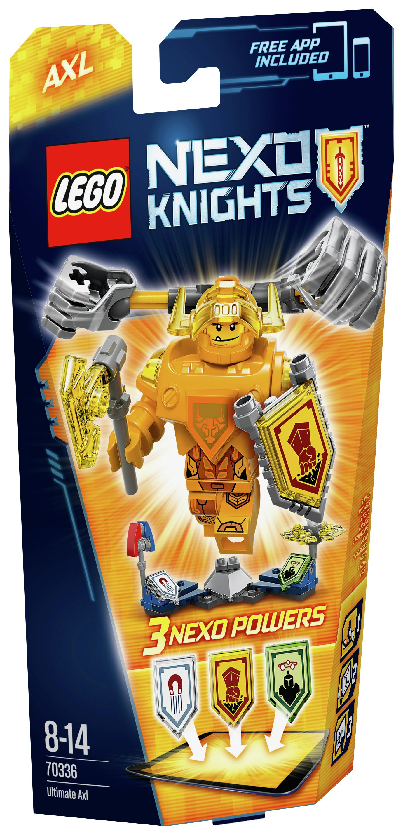 Image of LEGO - Nexo Knights Ultimate Axl - 70336