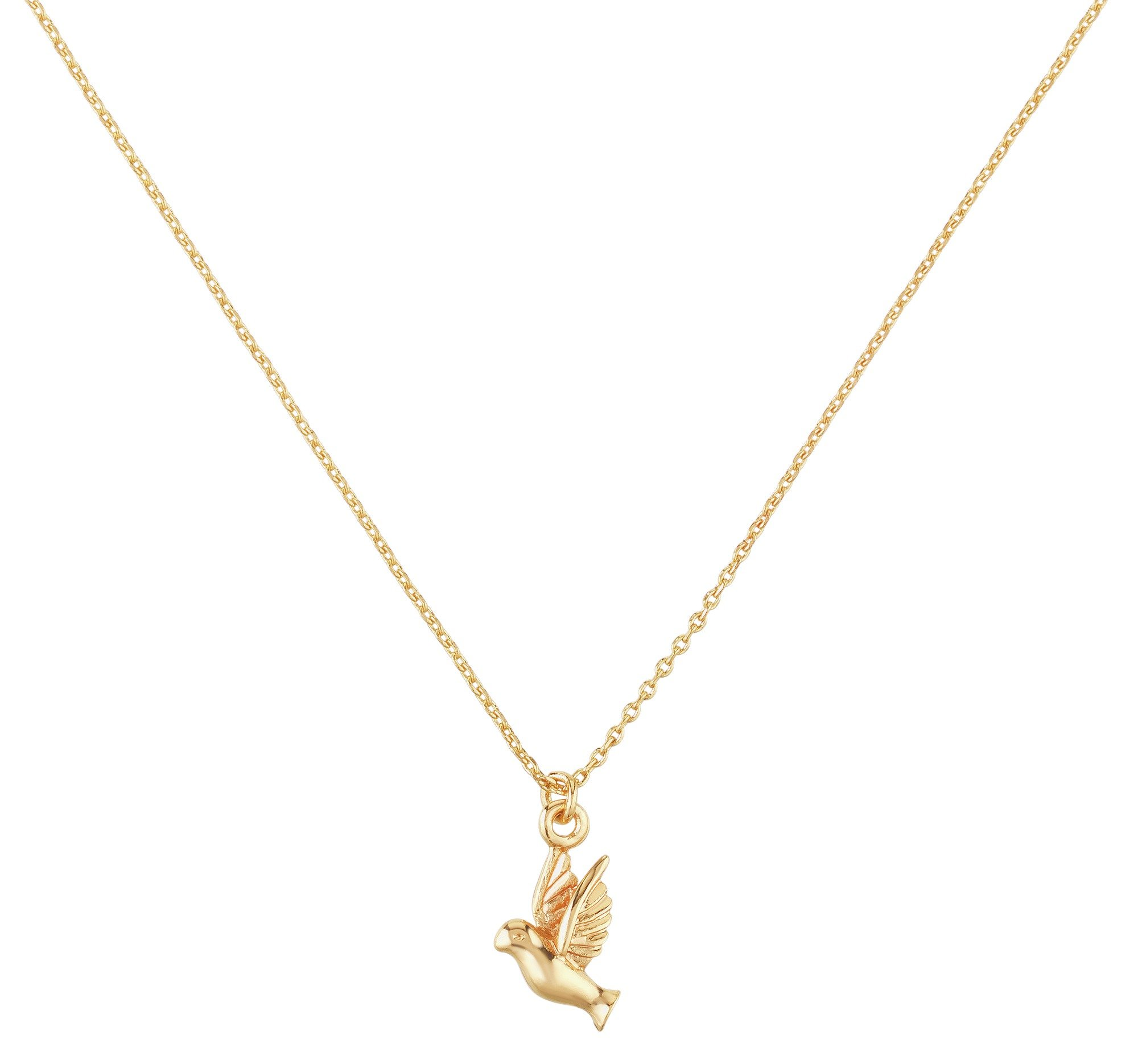 Image of Amelia Grace - Hummingbird Gold - Colour Necklace.