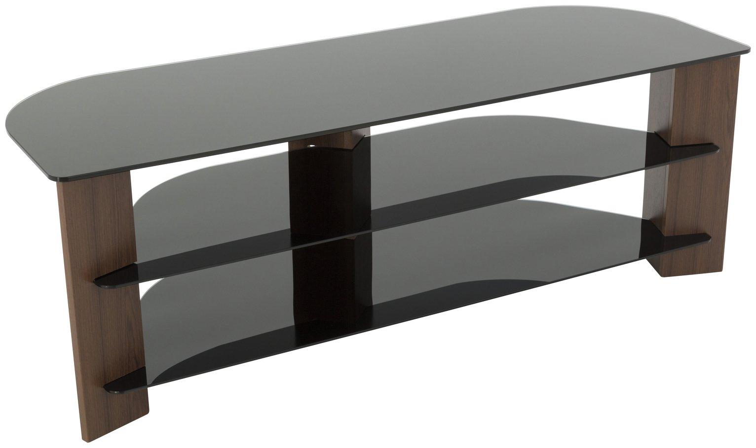AVF AVF Up To 65 Inch TV Stand - Walnut and Black.