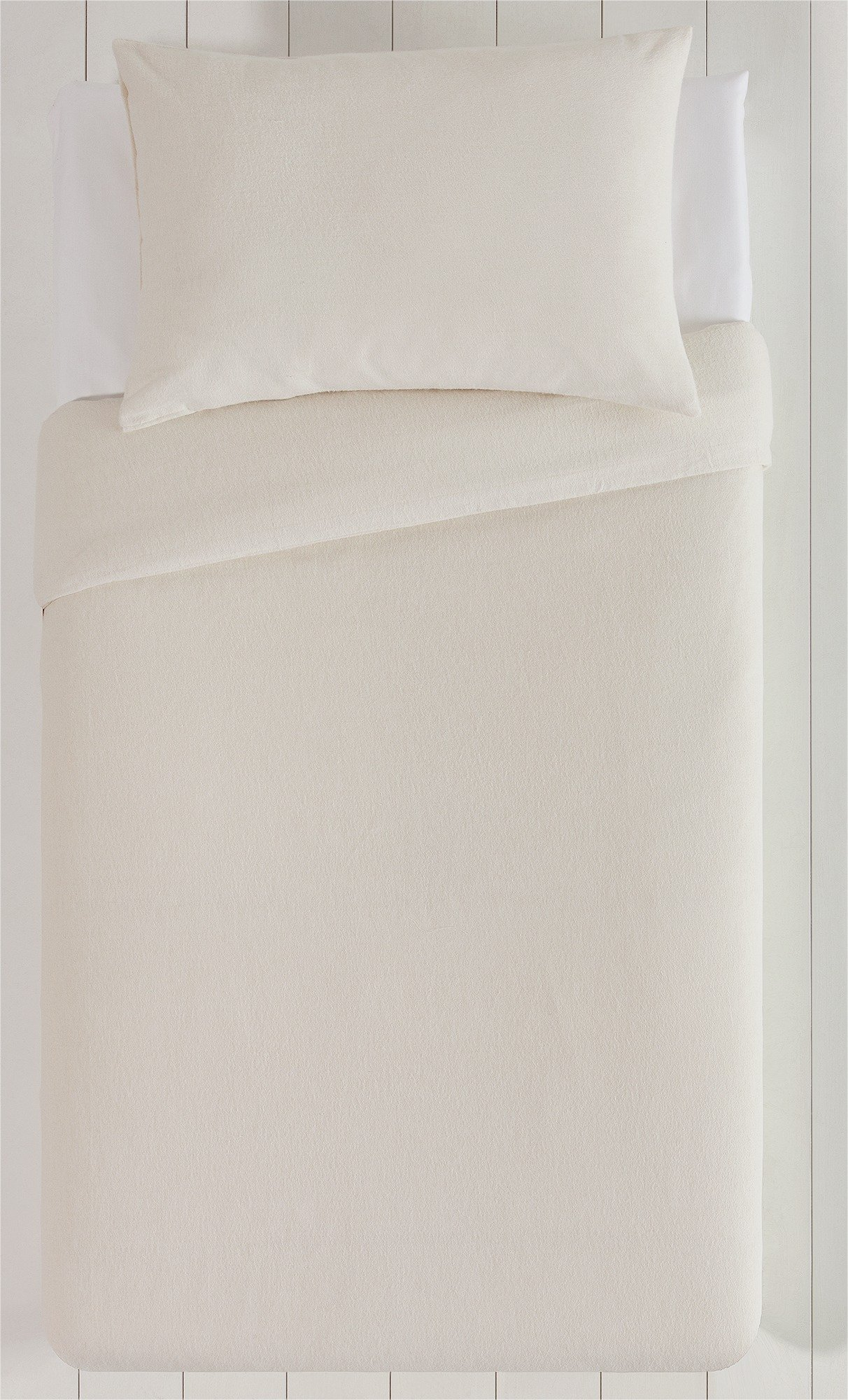 Collection - Cream Brushed - Cotton - Bedding Set - Toddler