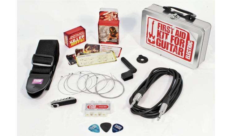 Electric Guitar First Aid Kit.