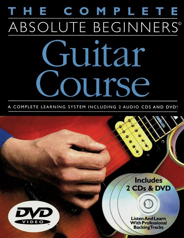 Absolute Beginners - Guitar Book Course