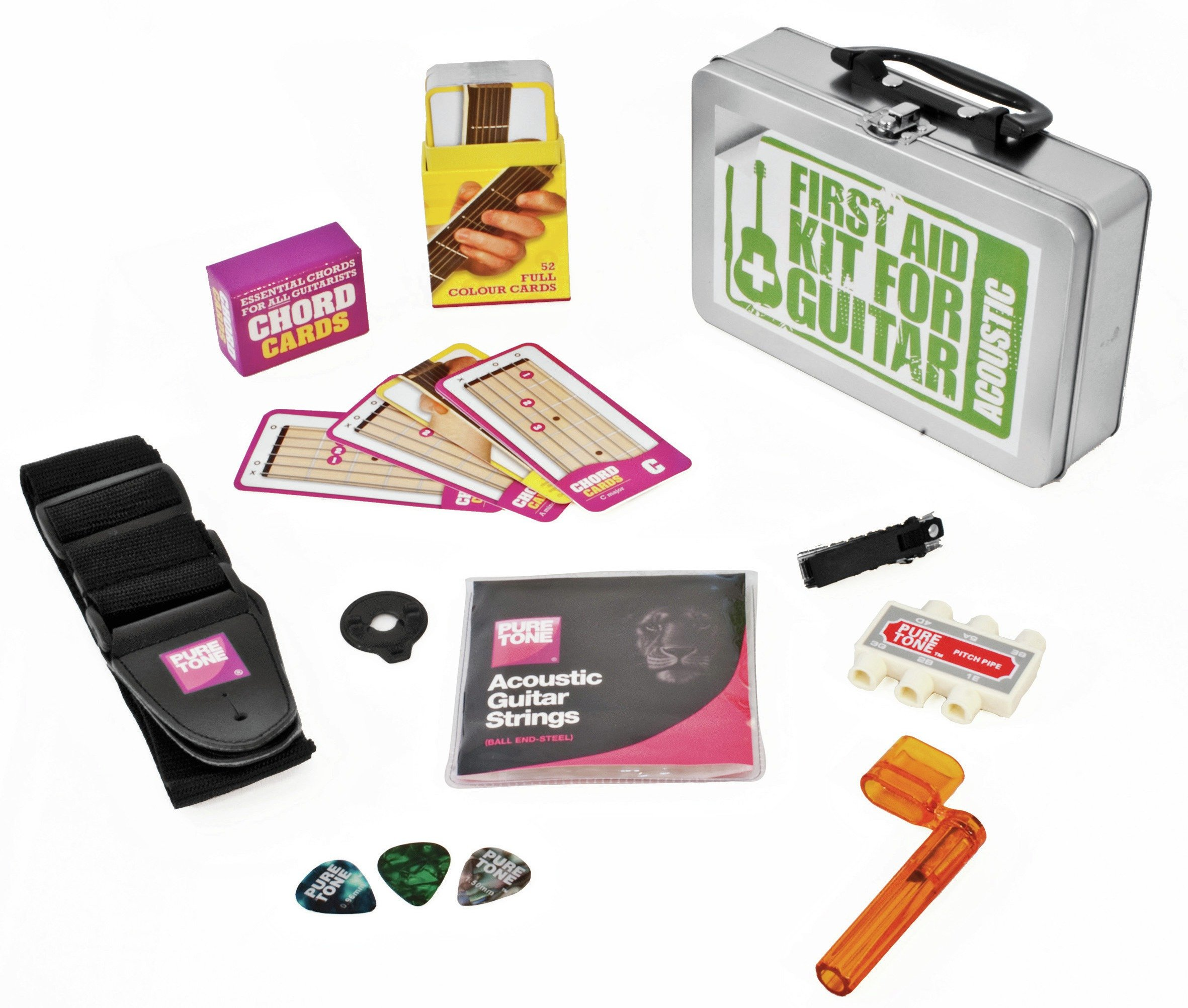 Wise Publications Acoustic Guitar First Aid Kit