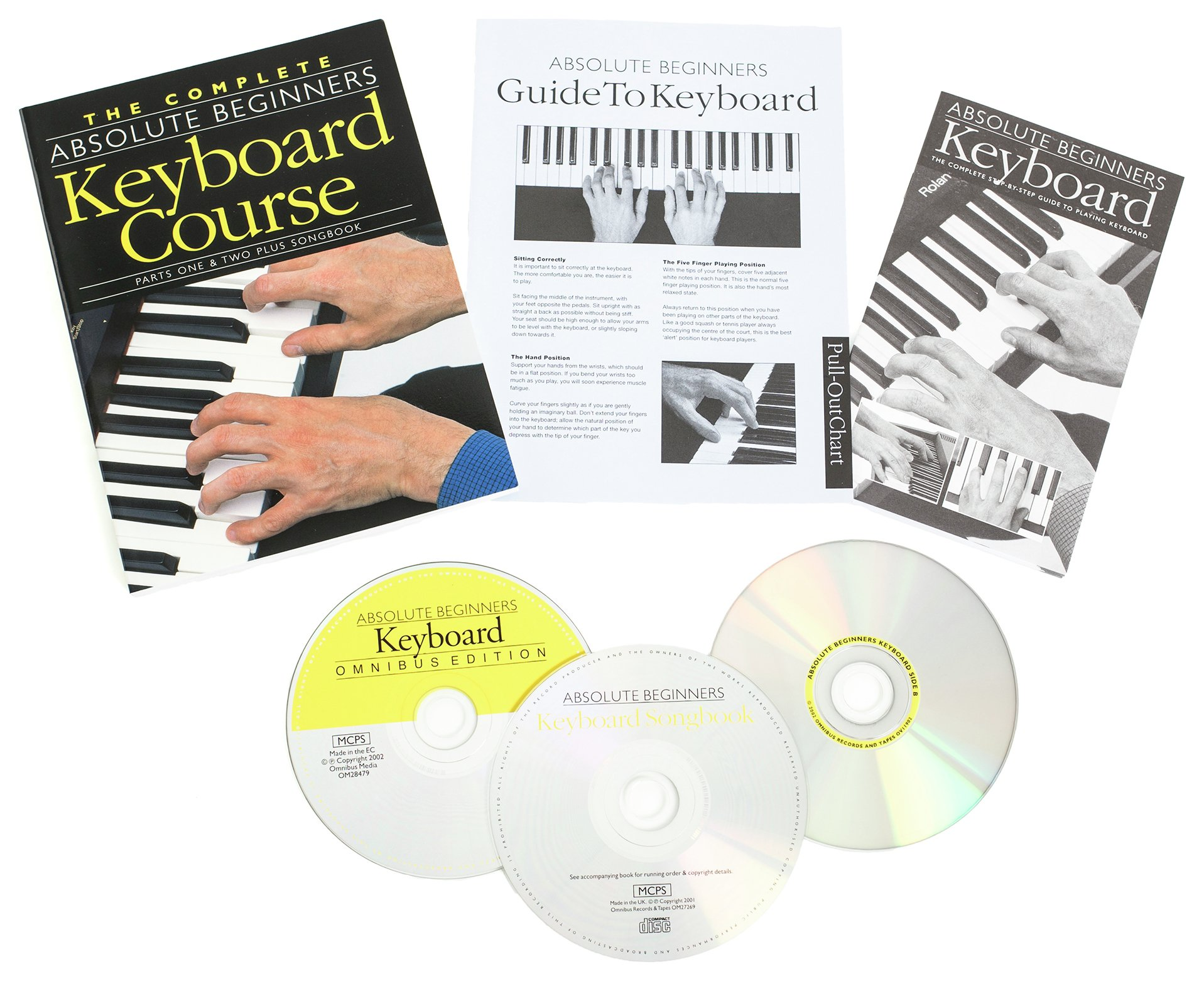Image of Absolute Beginners - Keyboard Course