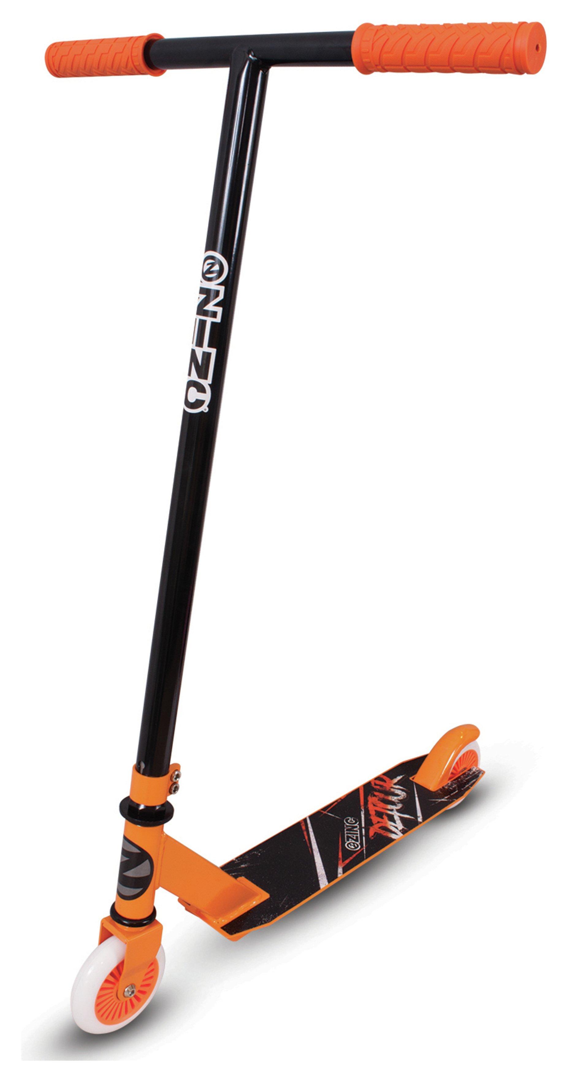 Zinc Detour Stunt Scooter - Black and Orange