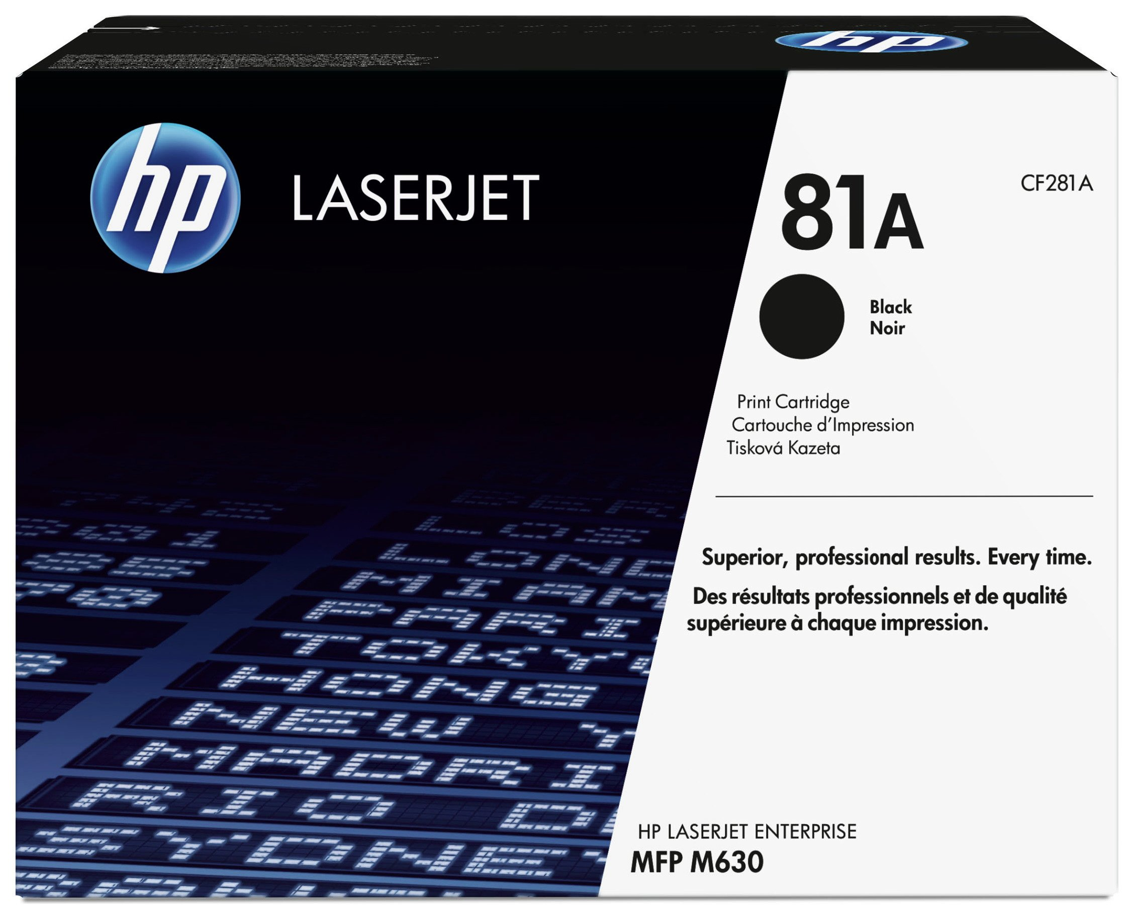 HP - 81A Black LaserJet - Toner Cartridge (CF281A)