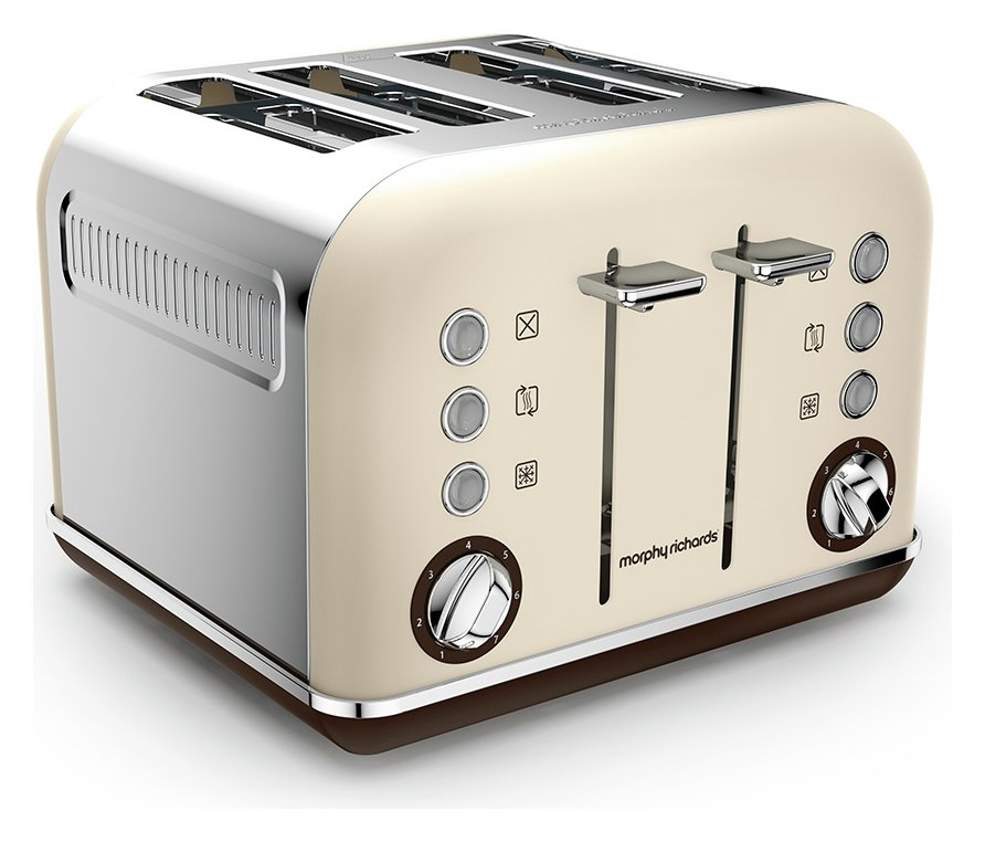 Morphy Richards - Toaster - Accents Special Edition Toaster -Sand.