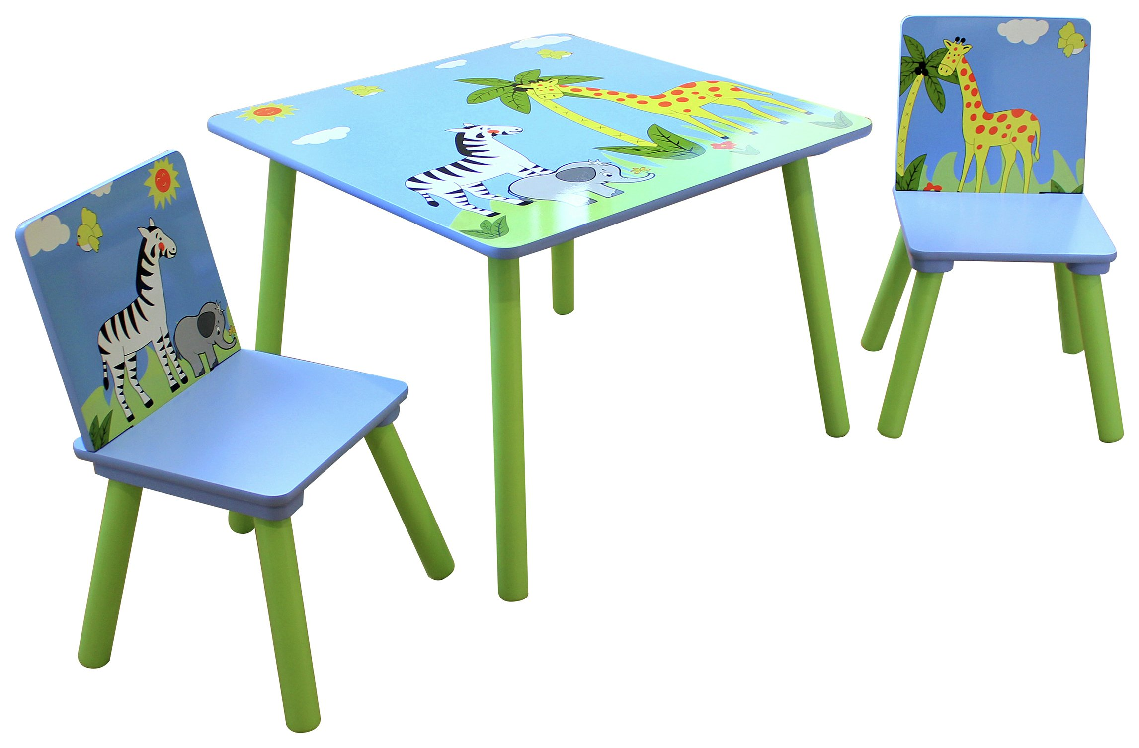 Liberty house toys safari table with 2 chairs set octer for 99 normal table