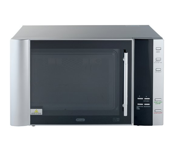 DeLonghi - Combination Microwave - AC9 28L 900W Easi-Tronic - Silver