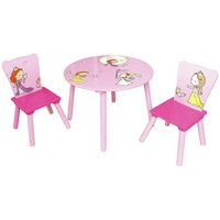 Liberty House Princess Table and 2 Chairs Set.