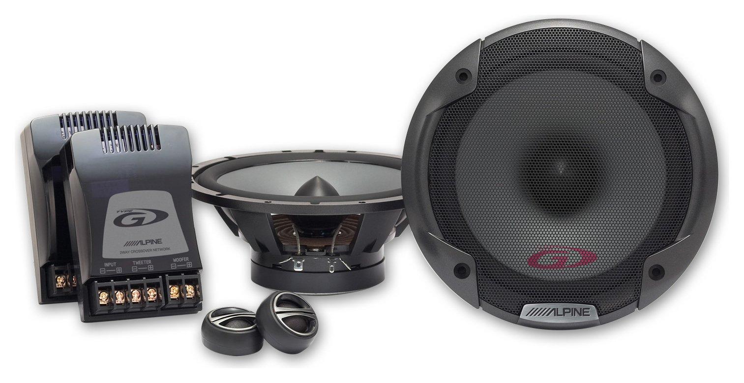 Image of Alpine SPG17CS 17cm Speakers.