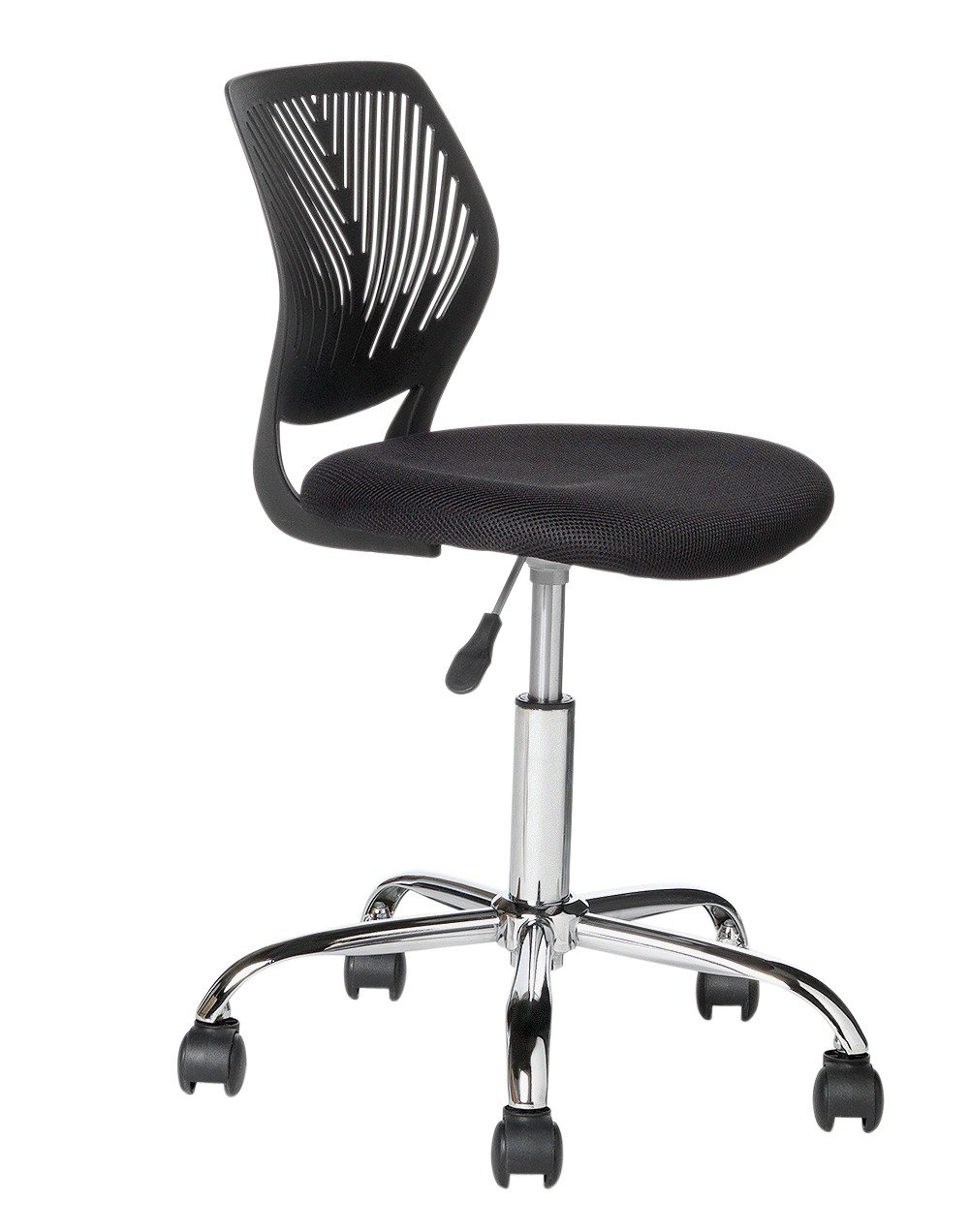 buy mesh gas lift height adjustable office chair - black at argos
